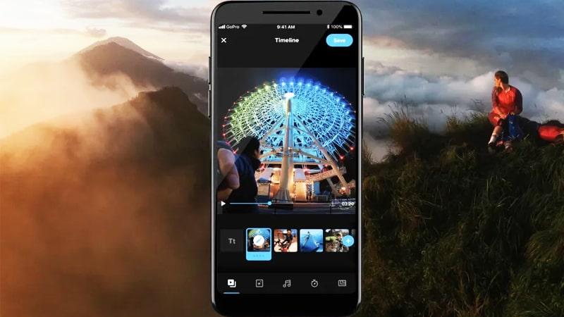 app chinh sua video